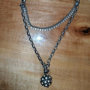 Lucky Brand Necklace Double 20""
